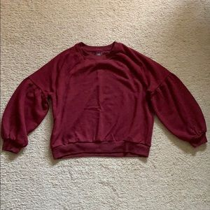 Aerie Maroon Pullover